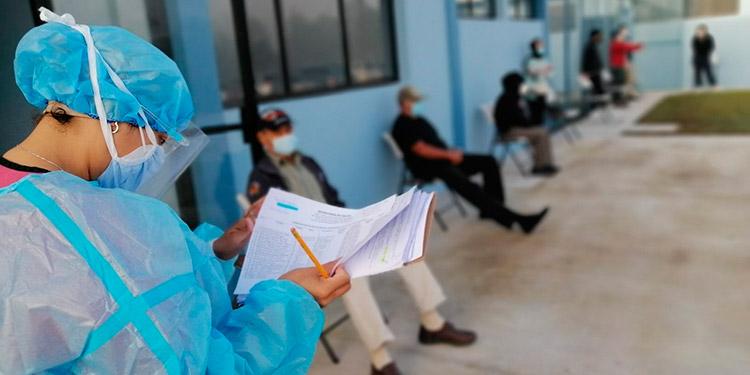 Se registraron en la última semana un total de 528 atenciones por coronavirus en Siguatepeque, incluyendo 25 fichas del IHSS y de clínicas privadas.