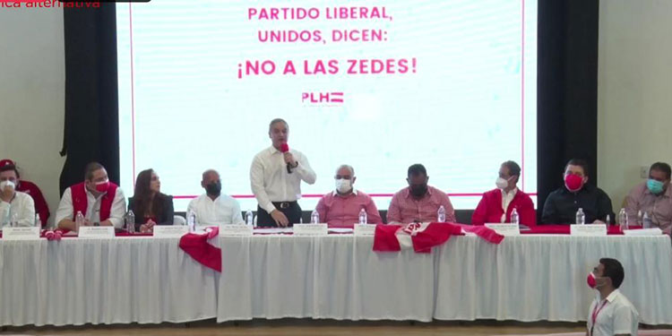 Yani señaló que con ZEDE como Próspera, en Roatán, que está vendiendo residencias a pobladores, se promueve un paraíso fiscal.