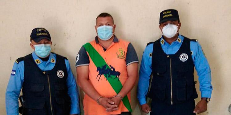 El detenido Héctor Leonel Fúnez Herrera, fue enviado ante las autoridades del MP.