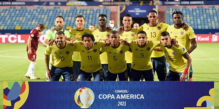 A los colombianos se les está haciendo difícil concretar los goles.