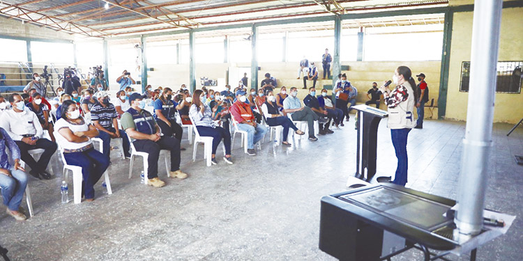 En Tocoa se han entregado 88 estufas mejoradas; en los próximos días sumarán 189, para un total de 277 y en el departamento de Colón se entregarán 1,453.