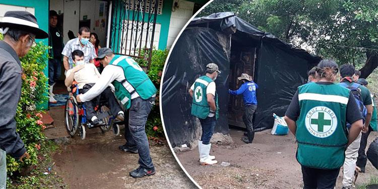 El 31 de mayo de 1982 fue fundada la Cruz Verde por Luis Aguirre y el personal en la ciudad de Choluteca es por voluntariado.