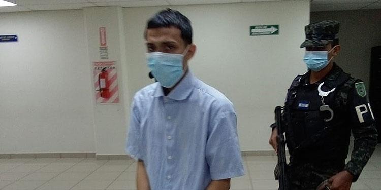 Maycol Onán Rodríguez Sorto fue declarado culpable por el delito de portación ilegal de arma.