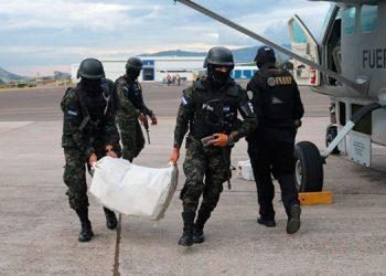 La droga ha sido decomisada en operaciones por tierra, aire y mar para un gran total de 32,666 kilos de cocaína incautados desde el 2014.