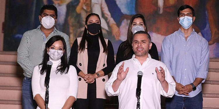 David Chávez agregó que el gobierno de Israel ha apoyado a Honduras en temas de seguridad, agro y salud, entre otros.