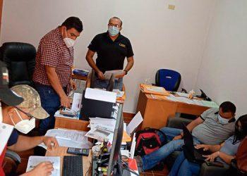 La Fiscalía Contra la Corrupción investiga a la municipalidad en mención como a empleados de la ENEE por otorgamientos irregulares de proyectos de electrificación.