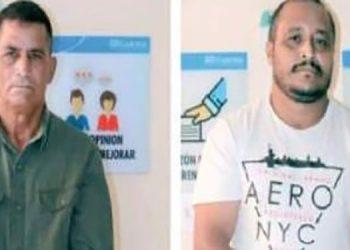 Marvin Eduardo García Ordóñez y Juan Antonio García Guzmán.