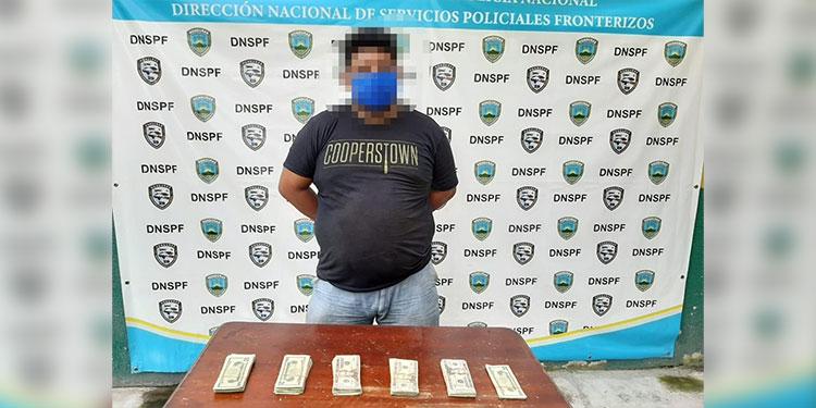 El sospechoso fue puesto a la orden de las autoridades competentes, para que se continúe con el debido proceso legal.