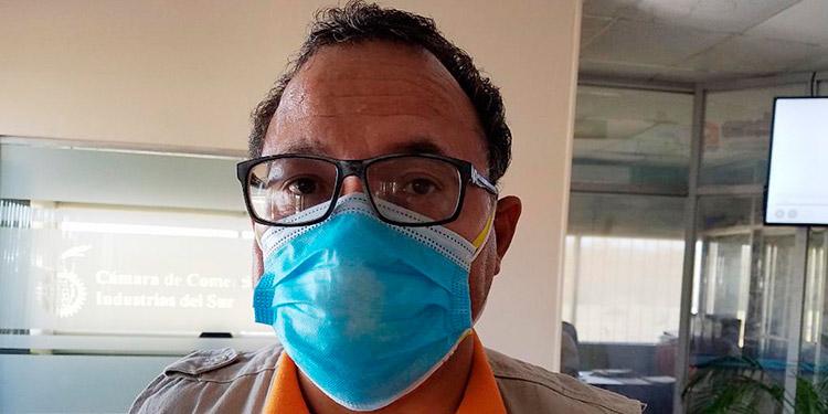 Douglas Avelar, epidemiólogo de la Región Departamental.