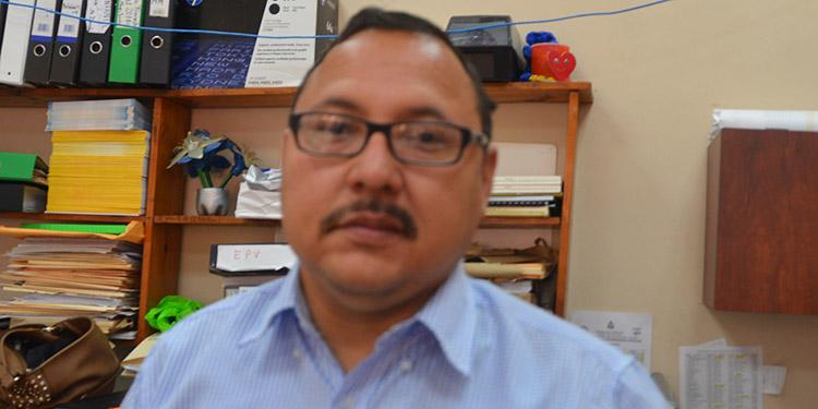 Douglas Avelar, epidemiólogo de la Región Departamental de Salud.