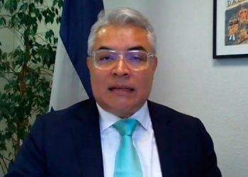Dacio Castillo disertó sobre los retos comerciales a estudiantes de Unitec vía conferencia virtual.