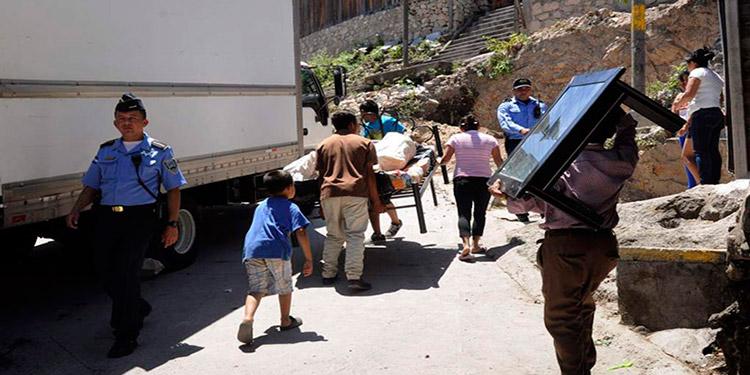 La violencia ha sido una de las principales causas del desplazamiento forzado en Honduras.