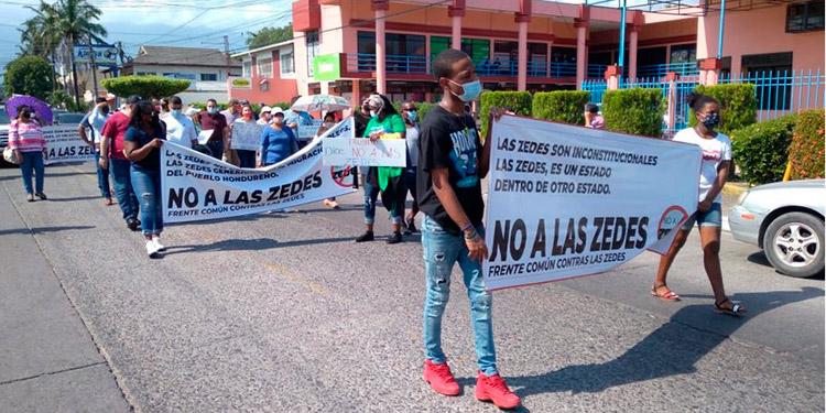 El CHE capítulo noroccidental se unió al llamado de protesta y repudio de los gremios de la sociedad civil, entre otros.