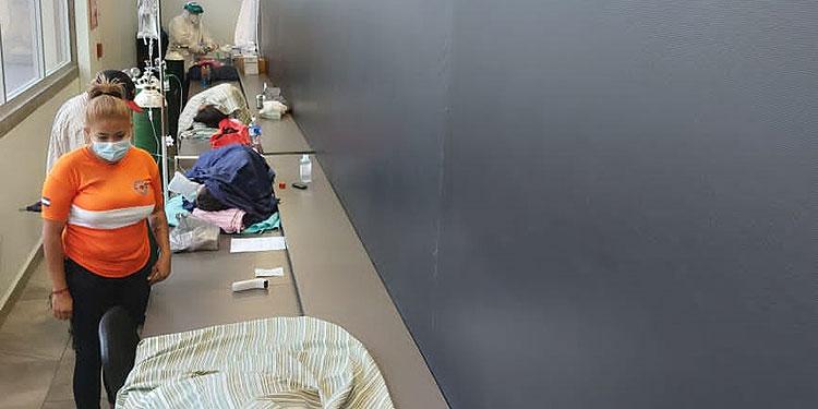 81 personas se encuentran en las salas de estabilización de los centros de triaje de la capital, esperando un cupo en los hospitales.