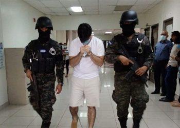"""Jesús Valmaña Cruz conocido como Ricardo Ezecson López Cerrato alias """"El Extranjero"""", fue presentado ayer ante el juez con Jurisdicción Nacional en SPS."""