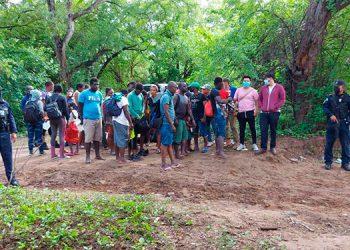 Las 34 personas que ingresaron ilegalmente al país, fueron retornadas por el mismo sitio por donde habían entrado desde Nicaragua.