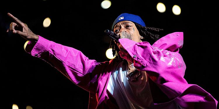 El rapero estadounidense Wiz Khalifa