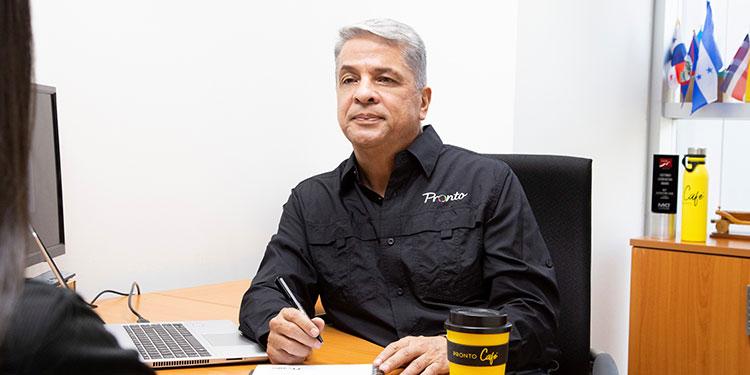 José Manzanares, gerente regional de Consumo de Pronto.