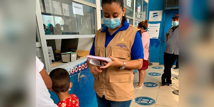 La Oficial de Protección a la Niñez tiene el apoyo de Unicef, ACNUR y la misma Dinaf.