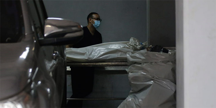 El cuerpo de David Valladares Ramos fue ingresado a la morgue capitalina y posteriormente entregado a sus parientes.