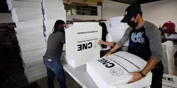 El secretario Martínez, dijo que ese organismo electoral no se pronunciará de momento sobre la solicitud de inscripción de la Alianza de la Unión Nacional Opositora de Honduras (UNOH), que integran el Pinu SD y el PSH.
