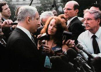 Netanyahu en una de sus tantas visitas a la Casa Blanca.