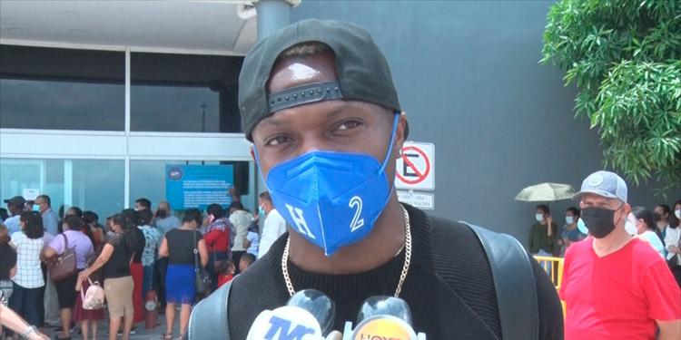 Kevin Álvarez está de vacaciones en Honduras.