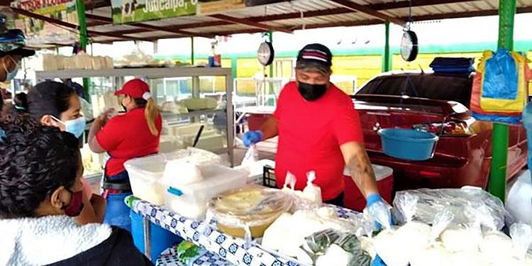 La mayor parte del producto lácteo que se adquiere en mercados procede de Olancho, Choluteca y de Nicaragua.