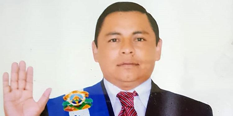 Ingeniero José Lorenzo Bejarano Rodríguez, alcalde de Yamaranguila, Intibucá.