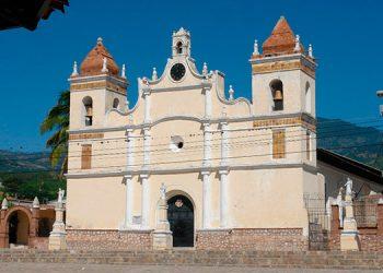 Iglesia del municipio de La Paz.