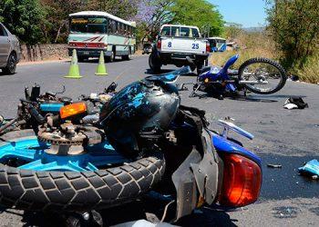 Cada día los hospitales registran un número importante de atenciones por accidentes de motociclistas.
