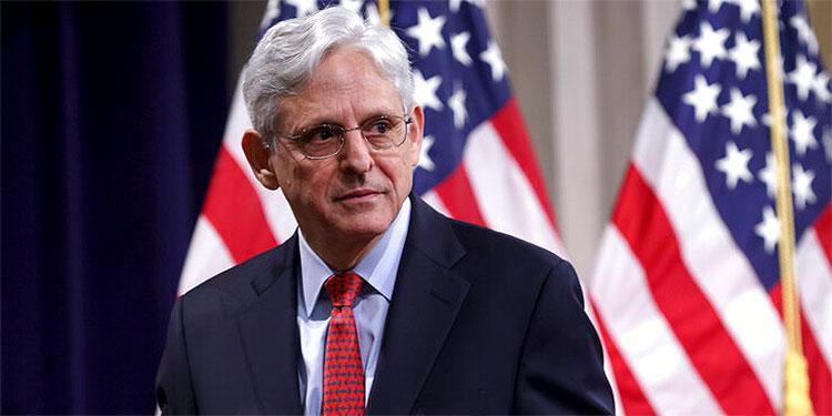 El secretario de Justicia de EEUU Merrick Garland.
