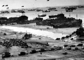 Hace 77 años, centenares de miles de soldados ingresaron a las playas de Normandía, Francia.
