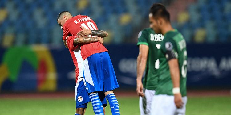 Paraguay vino de atrás para derrotar a Bolivia.