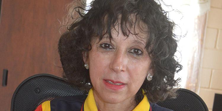 """Licenciada Ruth Salinas, directora """"Pebbles And Stones""""."""