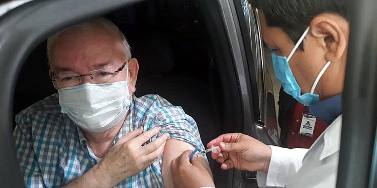 En la quinta jornada de vacunación se inoculará a personas de 50 a 59 años de edad.