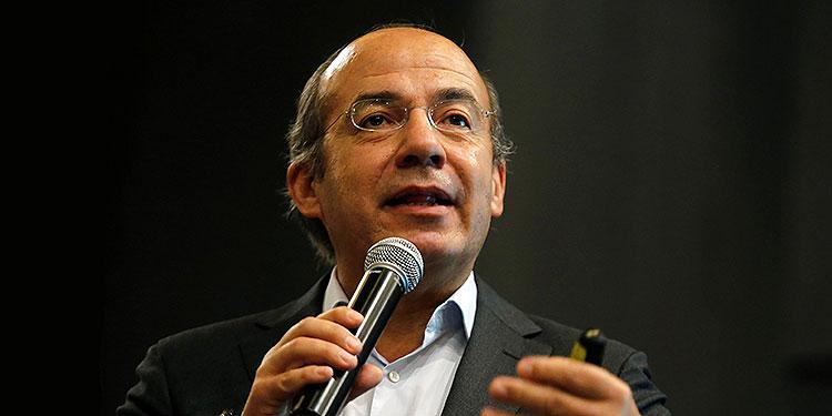 Felipe Calderón.  (LASSERFOTO EFE)