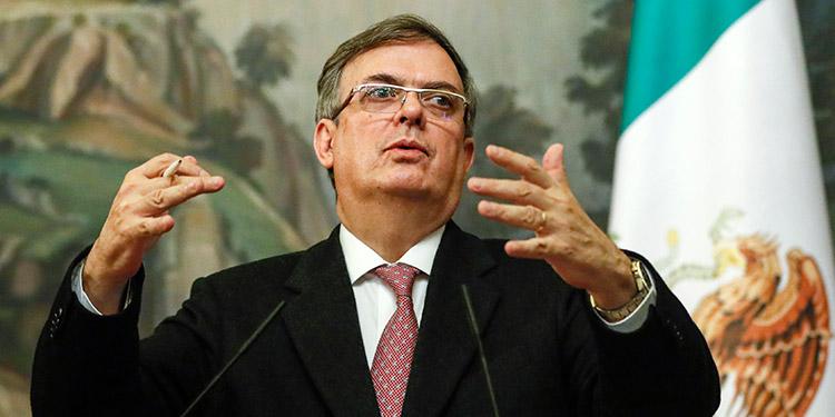 """La gestión del uruguayo Luis Almagro como secretario general de la OEA ha sido """"de las peores"""", afirmó el canciller mexicano, Marcelo Ebrard. (LASSERFOTO AP)"""