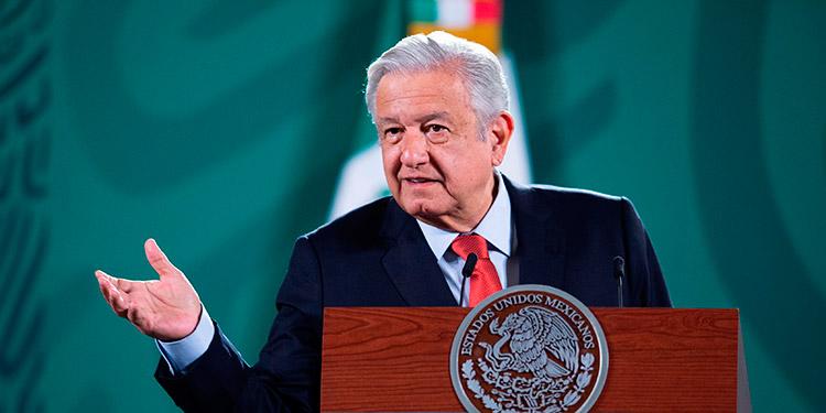 El presidente mexicano Andrés Manuel López Obrador se manifestó el viernes en contra de la represión y los encarcelamientos en Nicaragua. (LASSERFOTO EFE)