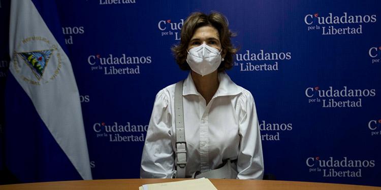 """La OEA aseguró que Nicaragua se encamina """"a las peores elecciones posibles"""", al inhabilitar a la aspirante opositora Cristiana María Chamorro Barrios. (LASSERFOTO EFE)"""