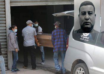 De la morgue capitalina ayer fueron retirados los cuerpos de Rosman Joel Salgado Solís y Sergio Pineda Argueta (respectivamente).