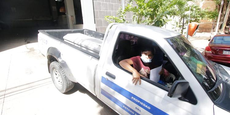 Con ayuda gubernamental, doña María Santos Martínez, pudo retirar y trasladar el cuerpo de su marido hasta su pueblo natal de San Juan de Intibucá.