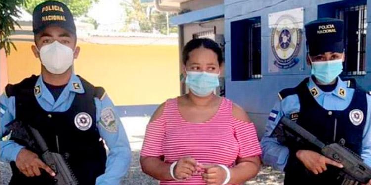 Según investigaciones, Marlin Xiomara Contreras Urraco (27) es miembro de una banda de secuestradores.