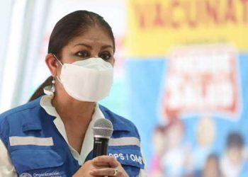 La representante de la OPS, Piedad Huerta aseguró que la aplicación de la segunda dosis se basa en estudios clínicos.