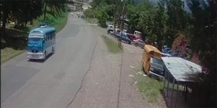 Un buen sector del barrio Buena Vista, de Siguatepeque, está monitoreado con el sistema de cámaras instaladas.