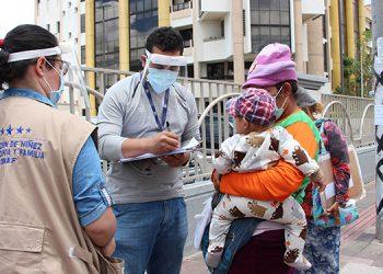 La Dinaf anunció que su equipo se prepara para dar asistencia inmediata en caso de presentarse la necesidad de trasladar a las familias a espacios que se habiliten como albergues.