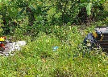 Los bomberos se desplazaron de inmediato al lugar en apoyo a la Cruz Roja Hondureña y la Policía.