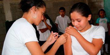 En Honduras se registra una cobertura del 76 por ciento en la vacunación contra el VPH.