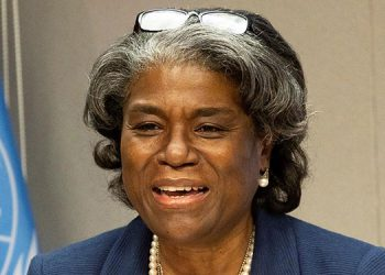 La embajadora de Estados Unidos ante la ONU, Linda Thomas-Greenfield. EFE