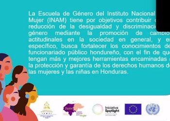 Con la Escuela de Género se da un paso hacia la reducción de los delitos contras las féminas destacaron los promotores del proyecto.